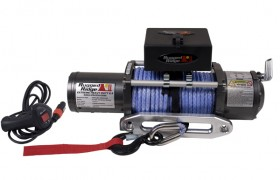 8500 lb. Winch with Synthetic Rope