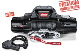 Warn Zeon 8000-S Winch with Synthetic